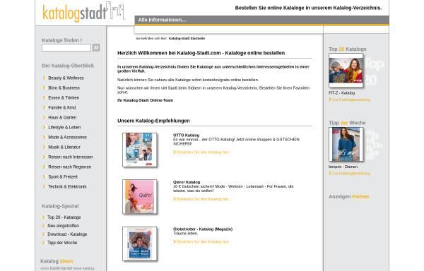Vorschau von www.katalog-stadt.com, Katalog-Stadt.com, Susanne Lutterbach