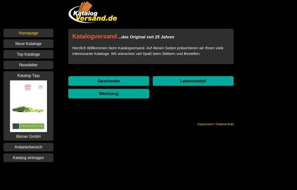 Vorschau von www.katalogversand.de, Katalogversand.de, Marcus Schmidt