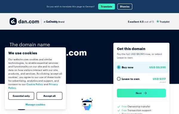 Vorschau von www.zebrastreifen.com, Zebrastreifen [Joly & Ingo Hoffmann]