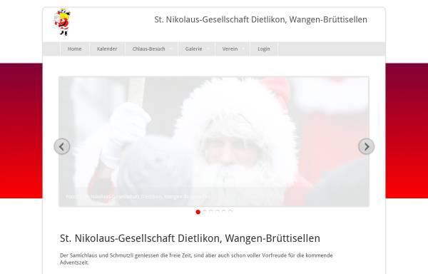 Vorschau von www.samichlaus-dietlikon.ch, Sankt-Nikolaus-Gesellschaft Dietlikon Wangen Brüttisellen