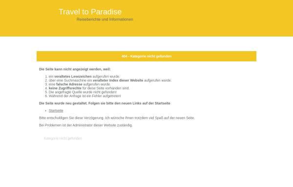 Vorschau von www.traveltoparadise.de, Travel to Paradise - Jordanien [Hartmut Steuerwald]