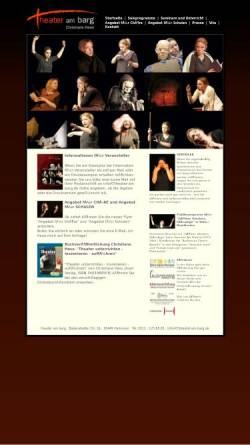 Vorschau der mobilen Webseite www.theater-am-barg.de, Hess, Christiane