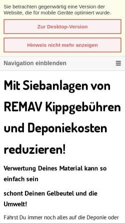 Vorschau der mobilen Webseite sieben-brechen.de, BEYER-Vertriebsbüro-West, Inh. Stefan N. Lörsch