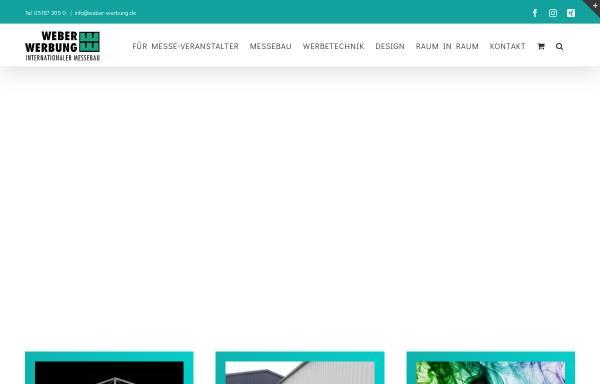 Vorschau von www.weber-werbung.de, Weber Werbung