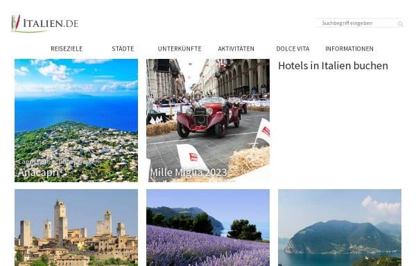 Vorschau von www.italien.de, Go 4 Sun