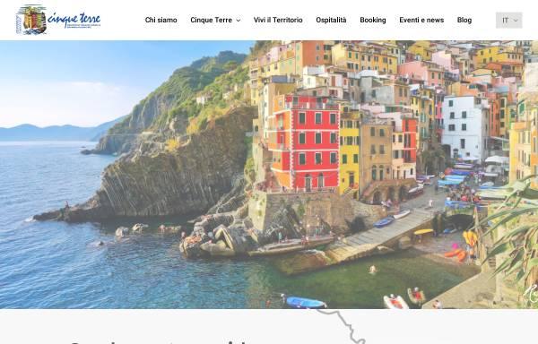 Vorschau von www.cinqueterre.it, Tourismusverband Cinque Terre