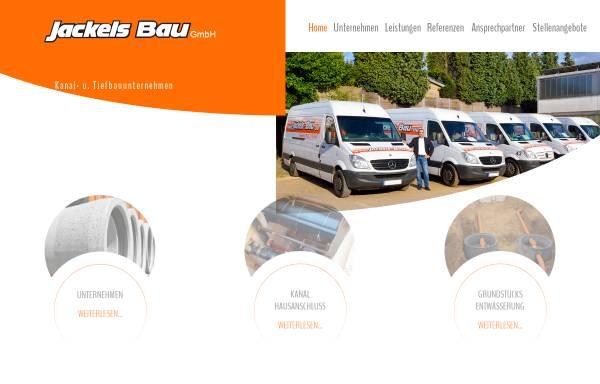 Vorschau von www.jackels-bau.de, Jackels Umweltdienste GmbH
