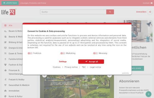 Vorschau von www.lifepr.de, LifePR