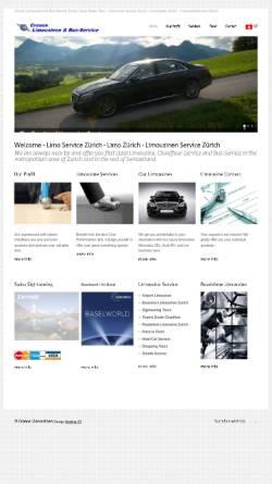 Vorschau der mobilen Webseite www.cronoslimousinen.ch, Cronos Limousinen