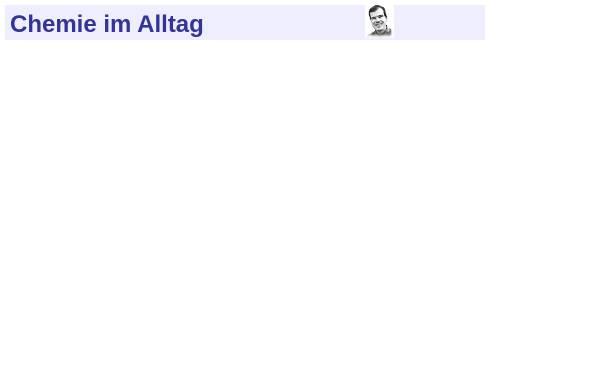 Vorschau von www.chemie-im-alltag.de, Chemie im Alltag