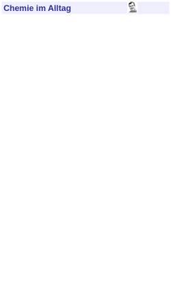 Vorschau der mobilen Webseite www.chemie-im-alltag.de, Chemie im Alltag