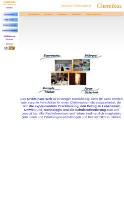 Vorschau der mobilen Webseite www.chemikus.de, Chemikus