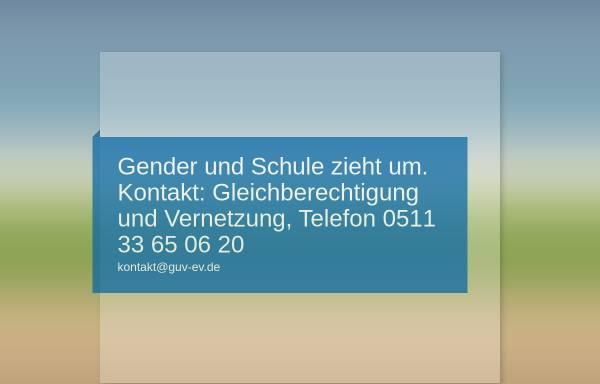Vorschau von www.genderundschule.de, Gender und Schule