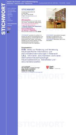 Vorschau der mobilen Webseite www.stichwort.or.at, Stichwort