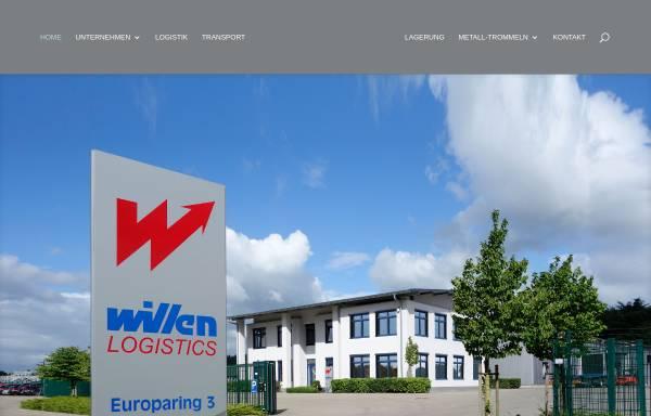 Vorschau von www.willen.biz, Alwin Willen Speditions-GmbH, Willen Transport GmbH und Willen Service GmbH