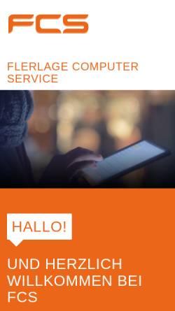 Vorschau der mobilen Webseite www.fcs.de, Flerlage Computer Service