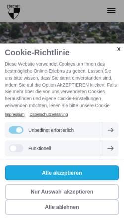 Vorschau der mobilen Webseite www.dsc-99.de, DSC 99