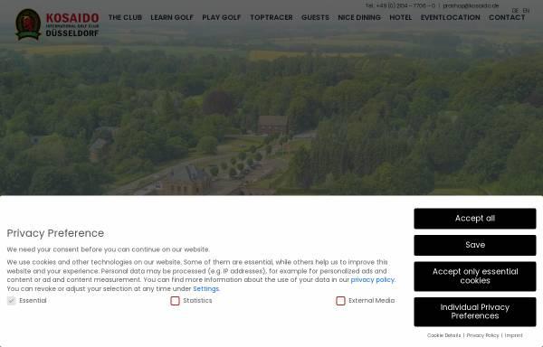 Vorschau von www.kosaido.de, Kosaido International Golf Club