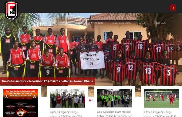 Vorschau von www.eller04.de, TSV Eller 04