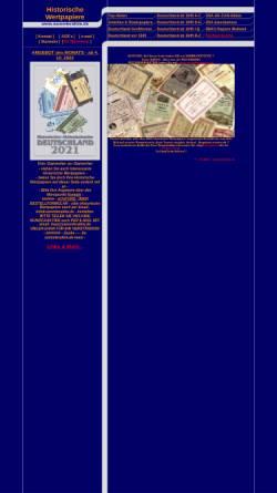 Vorschau der mobilen Webseite www.sammleraktie.de, Sammleraktie, Dr. Karin Stanzel