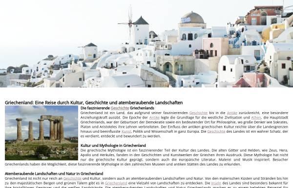 Vorschau von www.griechenland-lexikon.de, Griechenland-Lexikon