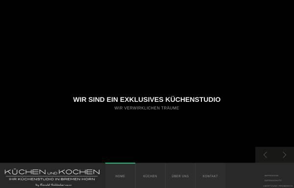Vorschau von www.kuechenundkochen.de, Küchen & Kochen GmbH