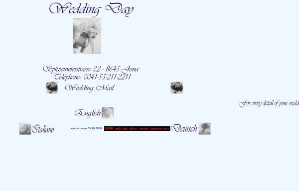 Vorschau von www.weddingday.ch, Wedding Day
