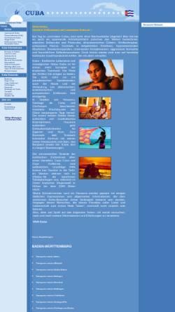 Vorschau der mobilen Webseite www.lastminute-kuba.de, Viva Kuba