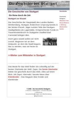 Vorschau der mobilen Webseite www.stuttgart-geschichte.de, Geschichte von Stuttgart