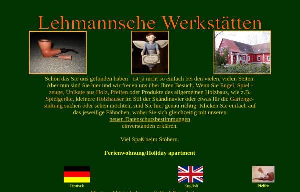 Vorschau von www.lehmannschewerkstaetten.de, Lehmannsche Werkstätten