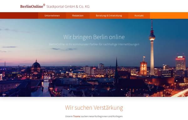 Vorschau von www.berlinonline.de, Spiel entleerter Seelen