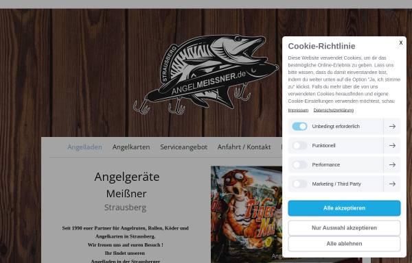 Vorschau von www.angelmeissner.de, Angelgeräte Meißner