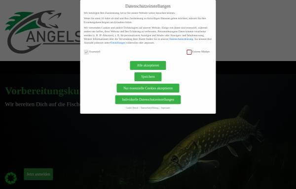 Vorschau von www.angelscheine.de, Angelschein - Fischerprüfungsvorbereitung
