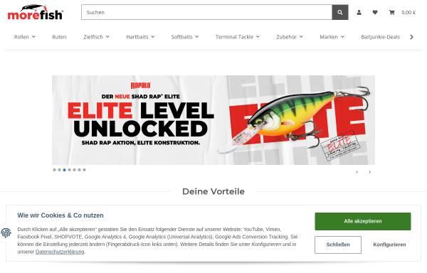 Vorschau von www.morefish.de, morefish - Angellockstoffe