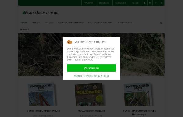 Vorschau von www.forstfachverlag.de, Forstfachverlag