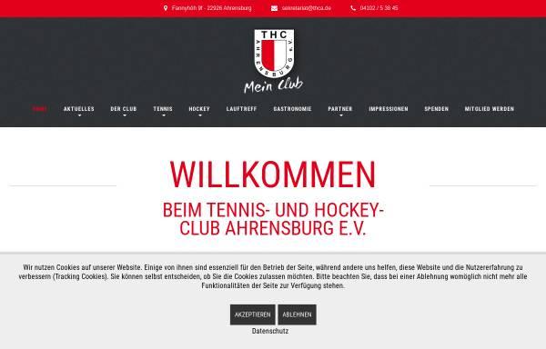 Vorschau von www.thca.de, Tennis- und Hockey-Club Ahrensburg e.V.