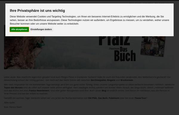 Vorschau von www.panico.de, Panico Alpinverlag