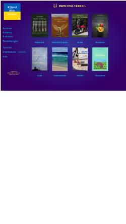 Vorschau der mobilen Webseite www.principal.de, Principal Verlag