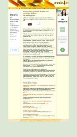 Vorschau der mobilen Webseite www.nudel.at, Nudel.at