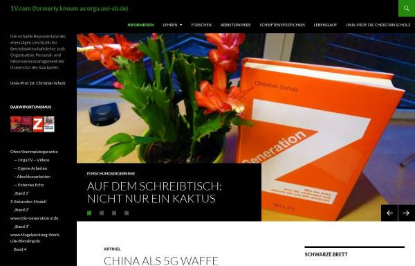 Vorschau von orga.uni-sb.de, BestPersAward
