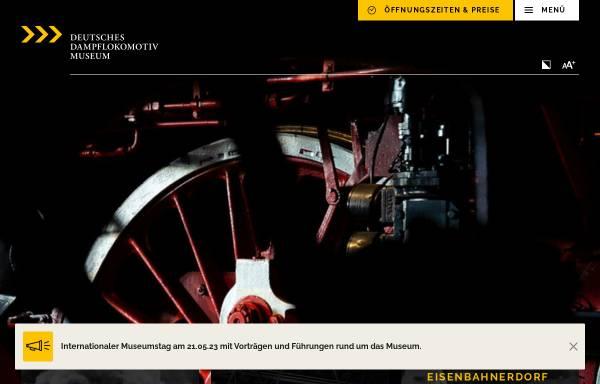 Vorschau von www.dampflokmuseum.de, Neuenmarkt, Deutsches Dampflokomotiv-Museum