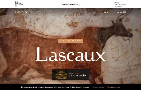 Vorschau von www.culture.gouv.fr, Höhle zu Lascaux