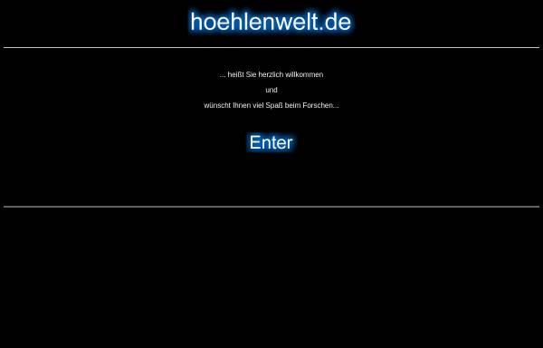 Vorschau von www.hoehlenwelten.de, Höhlenwelten