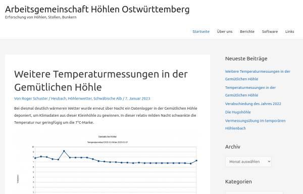 Vorschau von www.speleologie.de, Speleologie.de - Die Welt von unten.