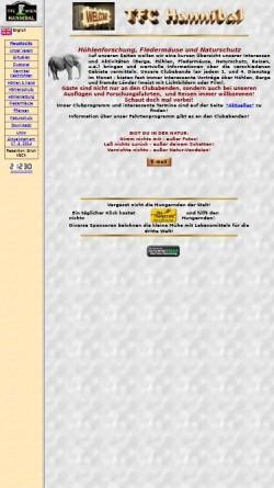 Vorschau der mobilen Webseite members.chello.at, TFC Hannibal