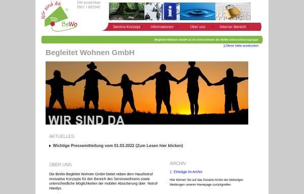 Vorschau von www.begleitet-wohnen.de, BEWO - Begleitet Wohnen