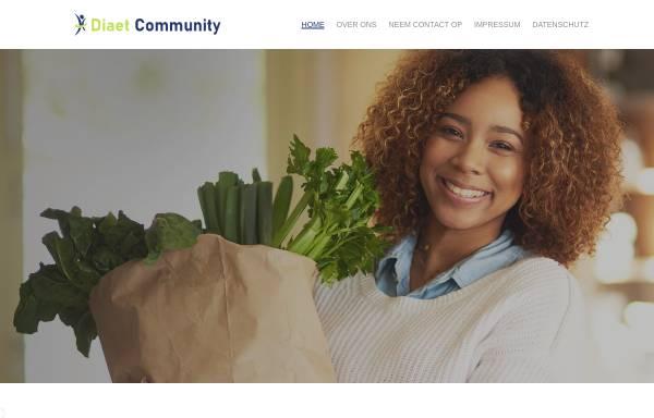 Vorschau von www.diaet-community.de, Diät Community