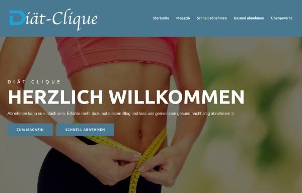 Vorschau von www.diaet-clique.de, Diät-Clique
