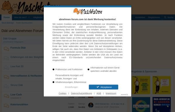 Vorschau von diaet.abnehmen-forum.com, Naschkatzen