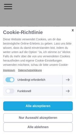 Vorschau der mobilen Webseite www.vonschreck.de, VonSchreck